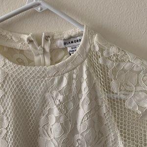 Nasty Gal Dresses - Nasty gal Lace Mini Dress NWT!